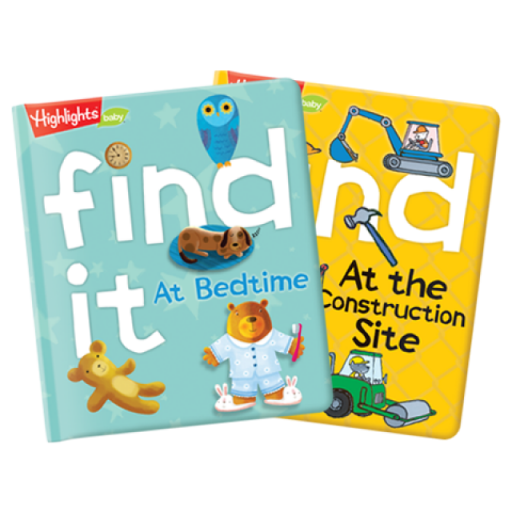 Find It Padded Board Books