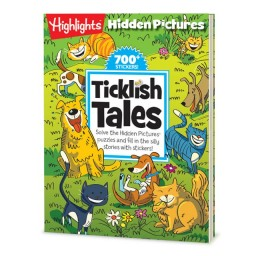 Hidden Pictures Silly Sticker Stories